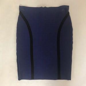Guess High-Waisted Bandage Skirt medium